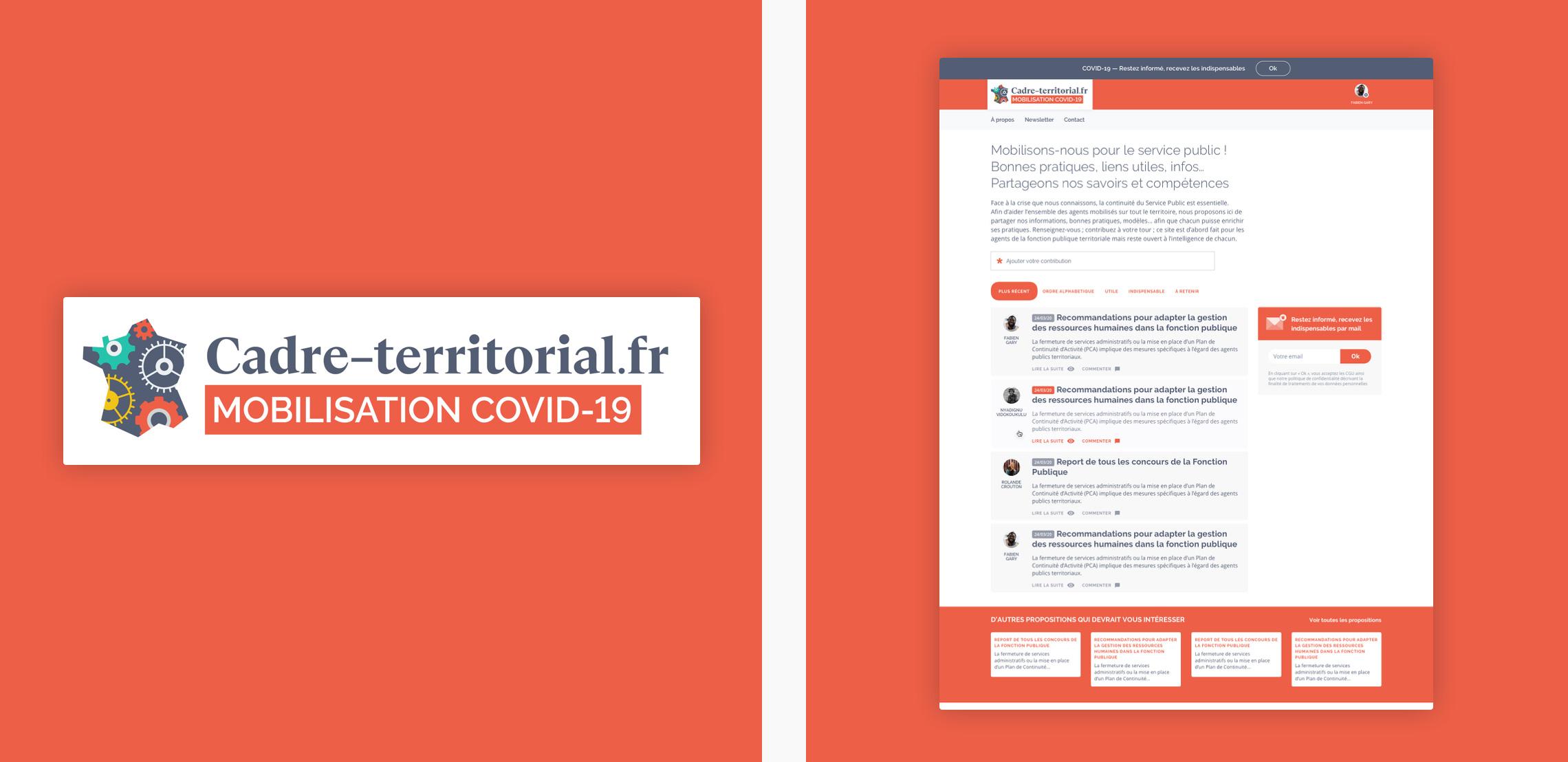 Visuel de Cadre-territorial.fr special covid19