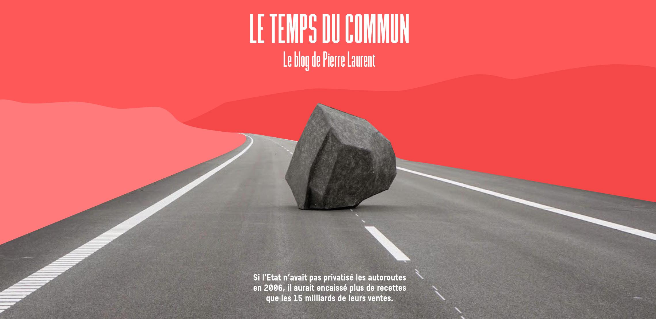 Image d'illustration de l'identité digitale de Pierre Laurent