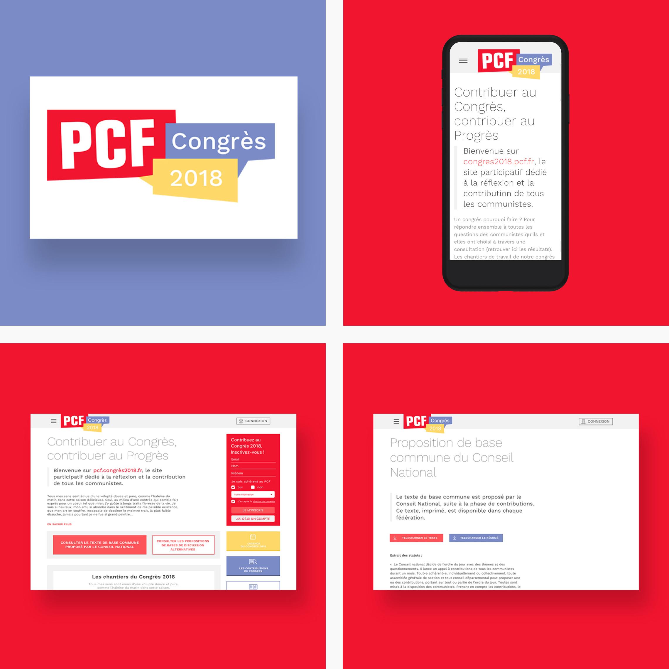 Plateforme participative d'une Congrès politique