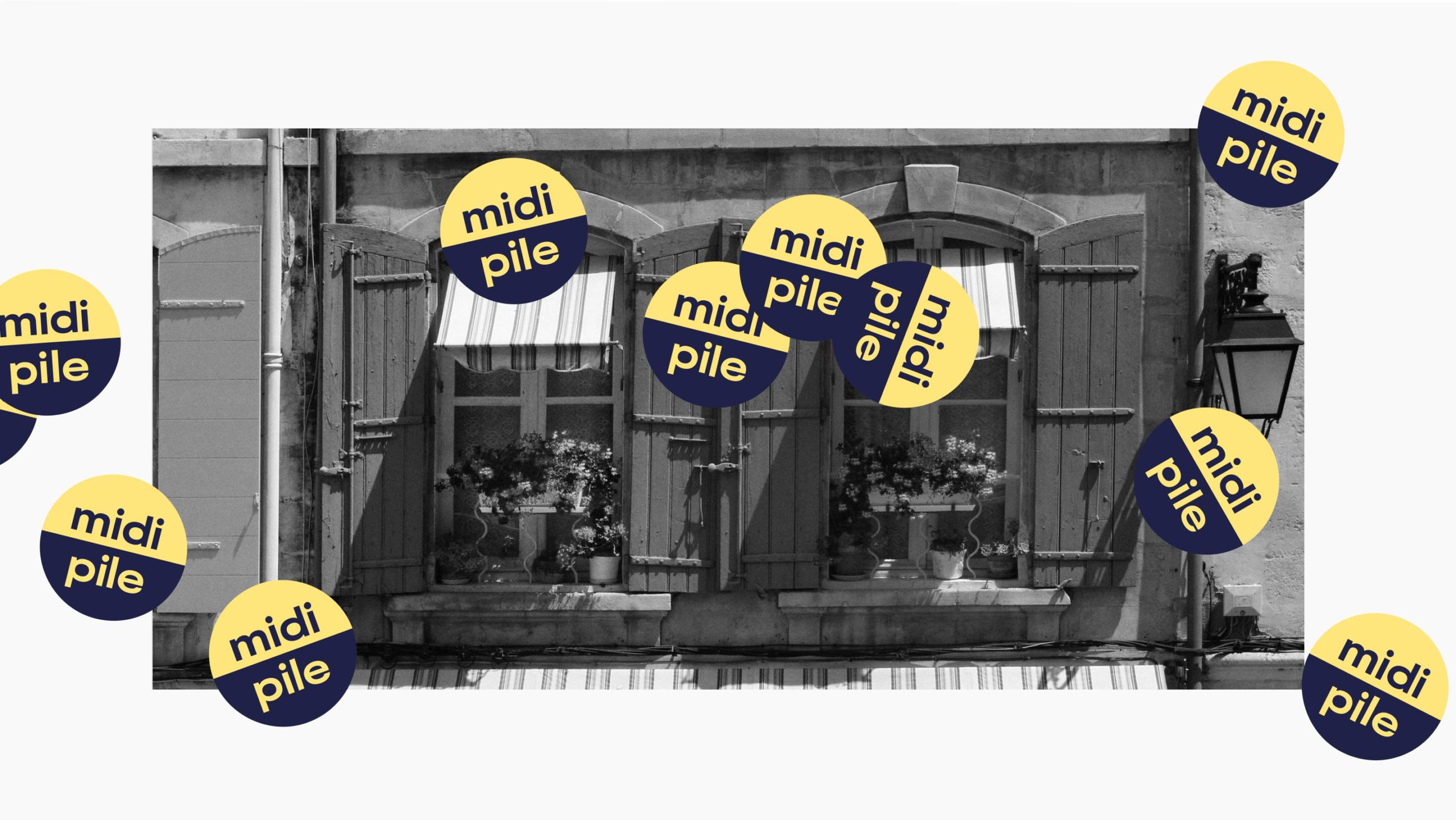Image avec le logo de Midi Pile